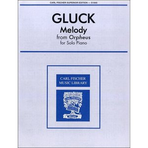 GYP00022860 グルック:オペラ「オルフエウとエウリディーチェ」よりメロディ(ピアノ) / カール・フィッシャー社