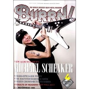 雑誌 BURRN! 2018年4月号 / シンコーミュージックエンタテイメント