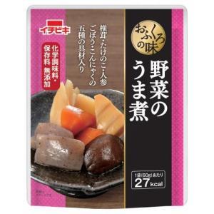 おふくろの味 野菜のうま煮 60g 惣菜 レトルト おかず お惣菜 化学調味料無添加 イチビキ|shimamura-miso