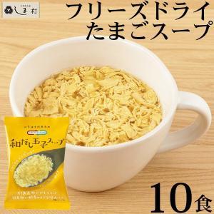 Nature Future 和だし玉子スープ 10食 フリーズドライ 化学調味料無添加 個包装 ギフト メール便対応 送料無料 コスモス食品