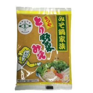とり野菜みそ 200g まつや 鍋 味噌ラーメン とり野菜味噌 とり野菜|shimamura-miso