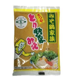 とり野菜みそ 200g 3袋セット まつや メール便 送料無料 鍋 味噌ラーメン とり野菜味噌 とり野菜|shimamura-miso|02