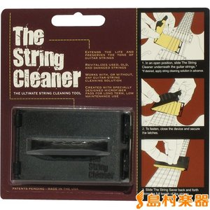 The String Cleaner ストリングクリーナー The String Cleaner (ギター用) ストリングクリーナー/ギター用