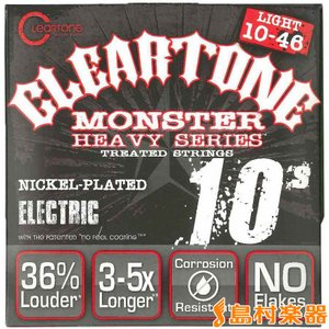Cleartone クリアトーン 9510 エレキギター弦/010-046 HEAVY SERIES|shimamura