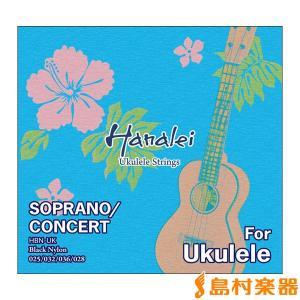 Hanalei ハナレイ HBN-UK ウクレレ弦セット