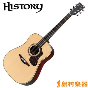 HISTORY ヒストリー NT-L4 NAT アコースティックギター〔フォークギター〕 日本製 NTL4|shimamura