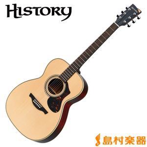 HISTORY ヒストリー NT-S4 NAT アコースティックギター〔フォークギター〕 日本製 NTS4|shimamura