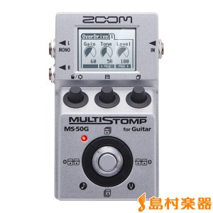 ZOOM ズーム MS-50G for Guitar MULTISTOMP 〔MS50G〕|shimamura