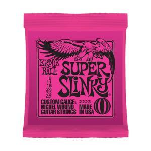 ERNiE BALL アーニーボール 2223 エレキギター弦 SUPER SLINKY|shimamura