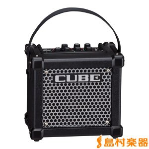 Roland ローランド MICRO CUBE GX BLK 3W ギターアンプ 〔エフェクター内蔵...