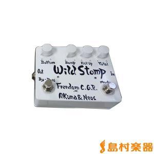 Freedom Custom Guitar Research フリーダム Wild Stomp WH ベースプリアンプ|shimamura
