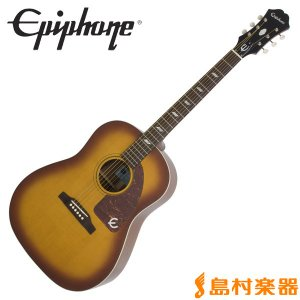Epiphone エピフォン Inspired by 1964 Texan Vintage Cherry テキサン エレアコギター|shimamura