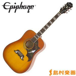 Epiphone エピフォン Dove PRO Violinburst ダブ エレアコギター