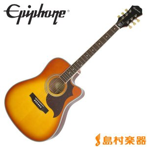 Epiphone エピフォン FT-350SCE Vintage Brown エレアコギター Min-ETune搭載 FT350SCE|shimamura