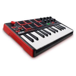 AKAI アカイ MPK mini MK2 MIDI キーボード コントローラー 25鍵盤