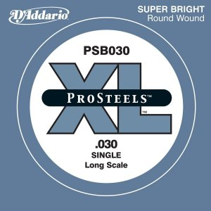 【D'Addario製、ベース弦(030 【バラ弦1本】)】○特徴■XL ProSteelシリーズは...