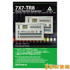 Roland ローランド AIRA 7X7-TR8-S ドラムマシン TR-8 拡張サウンド 〔7X7TR8S〕〔国内正規品〕