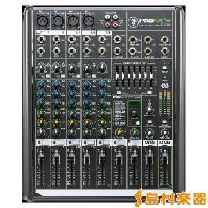 [特価 2019/09/30迄]MACKIE マッキー ProFX8v2 8チャンネルプロフェッショナルエフェクターUSB I/O内蔵ミキサー|shimamura