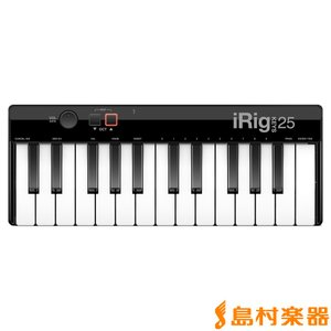 IK Multimedia IKマルチメディア iRig KEYS 25 MIDIキーボード 25鍵...