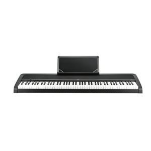 〔予約受付中!10月上旬頃のお届け予定〕KORG B1 BK(ブラック) 電子ピアノ 88鍵盤 〔コルグ〕|shimamura