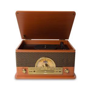ION AUDIO アイオンオーディオ Superior LP レトロ調 レコードプレーヤー Bluetooth対応 〔 カセットテープ / CD / ラジオ / USB 〕対応