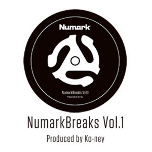「NumarkBreaks Vol.1」は、A面にスクラッチネタが8トラック、B面にスクラッチ用のビ...