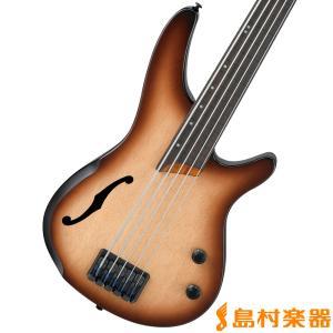 Ibanez アイバニーズ SRH505F NNF ベース 5弦 セミホロウボディ フレットレス|shimamura