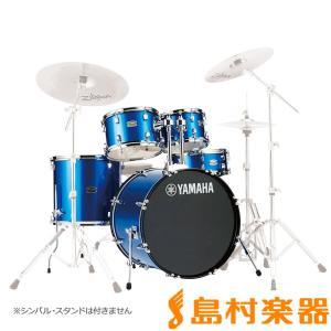 YAMAHA ヤマハ RYDEEN RDP0F5FB ドラム シェルセット ファインブルー 〔バスドラム20インチ仕様〕 ライディーン|shimamura