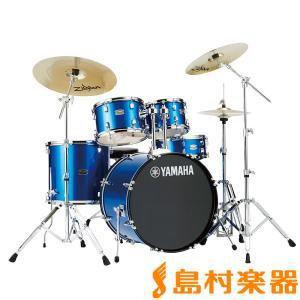 YAMAHA ヤマハ RYDEEN RDP0F5FB ドラムセット ファインブルー 〔バスドラム20インチ仕様〕 ライディーン|shimamura