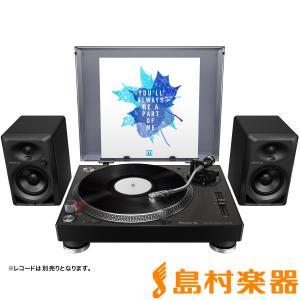 Pioneer DJ パイオニア PLX-500-K + DM-40-B レコードプレーヤーセット