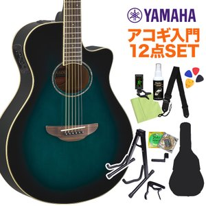 YAMAHA ヤマハ APX600 OBB アコースティックギター初心者12点セット 〔オンラインストア限定〕|shimamura