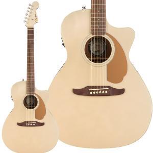 Fender フェンダー Newporter Player Champagne アコースティックギタ...