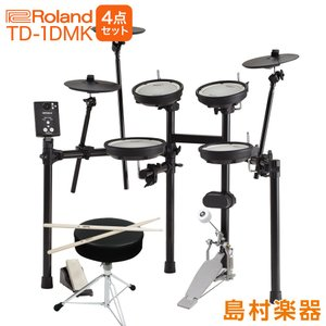 Roland ローランド TD-1DMK 自宅練習4点セット 電子ドラムセット TD-1シリーズ|shimamura