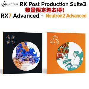 受賞歴のある業界スタンダードのオーディオ編集及び修復機能を有したRX7 Advanced 、放送ラウ...