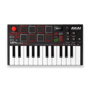 AKAI アカイ MPK mini play スタンドアローン・ポータブルMIDIキーボード・コント...