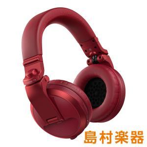 Pioneer DJ パイオニア HDJ-X5BT-R (メタリックレッド) ワイヤレスヘッドホン Bluetoothヘッドホン DJヘッドホン|shimamura