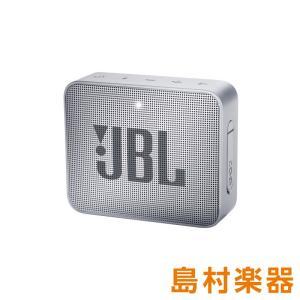 JBL GO2 (グレー) [ 防水性能IPX7] ポータブルスピーカー ワイヤレススピーカー Bl...