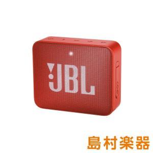 JBL GO2 (オレンジ) [ 防水性能IPX7] ポータブルスピーカー ワイヤレススピーカー B...