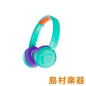 JBL JR300BT (ティールパープル) ワイヤレスヘッドホン キッズ用ヘッドホン Bluetoothヘッドホン 子供用|shimamura