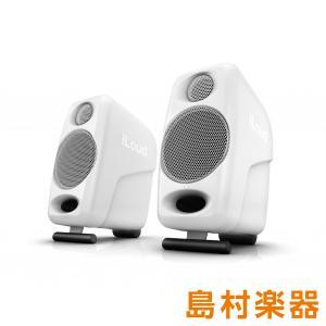 IK Multimedia iLoud Micro Monitor White Bluetooth対...
