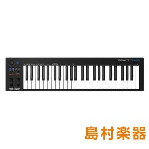 Impact GX はコンピューターを駆使した音楽制作やパフォーマンスに適したコントローラーキーボー...
