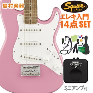 Squier by Fender スクワイヤー スクワイア Mini Strat Laurel Fi...