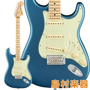 Fender フェンダー American Performer Stratocaster Maple Fingerboard Satin Lake Placid Blue エレキギター|shimamura