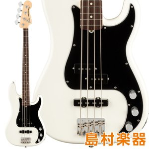 Fender フェンダー American Performer Precision Bass Rosewood Fingerboard Arctic White エレキベース|shimamura