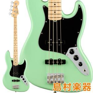 Fender フェンダー American Performer Jazz Bass Maple Fingerboard Satin Surf Green エレキベース|shimamura