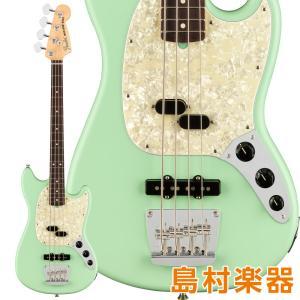 Fender フェンダー American Performer Mustang Bass Rosewood Fingerboard Satin Surf Green エレキベース|shimamura