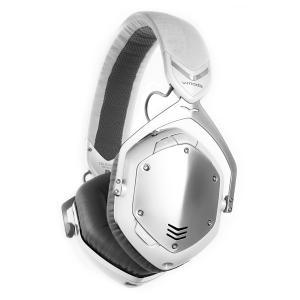 V-MODA ブイモーダ Crossfade Wireless ValueEdition (ホワイトシルバー) Bleutoothヘッドホン ワイヤレスヘッドホン [数量限定] XFBT-VALU|shimamura