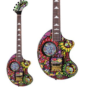 """あのhideのメインギターに描かれた""""ペイズリー""""ペイントが、FERNANDESのベストセラー""""ZO..."""