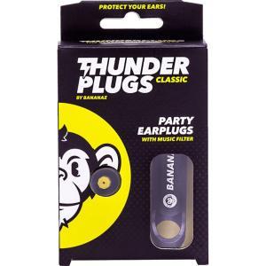 BANANAZ バナナズ ThunderPlugs CLASSIC イヤープロテクター ライブ用耳栓|shimamura