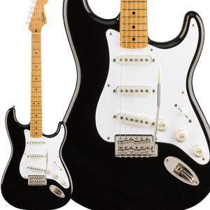 Fender フェンダー Classic Vibe '50s Stratocaster Maple Fingerboard Black ストラトキャスター|shimamura